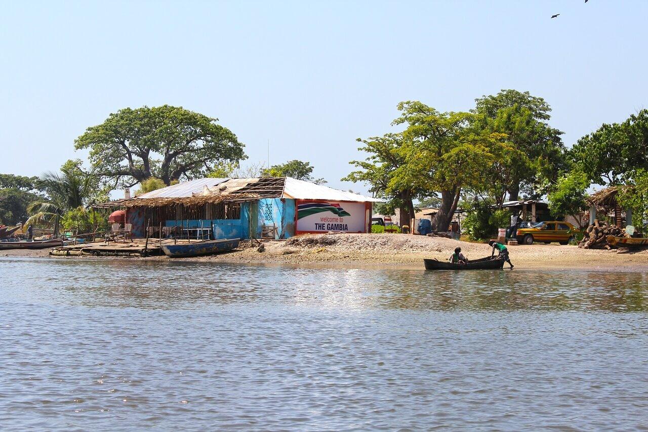 Fluss-in-Gambia