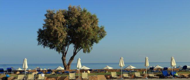Pool am Meer auf Kreta
