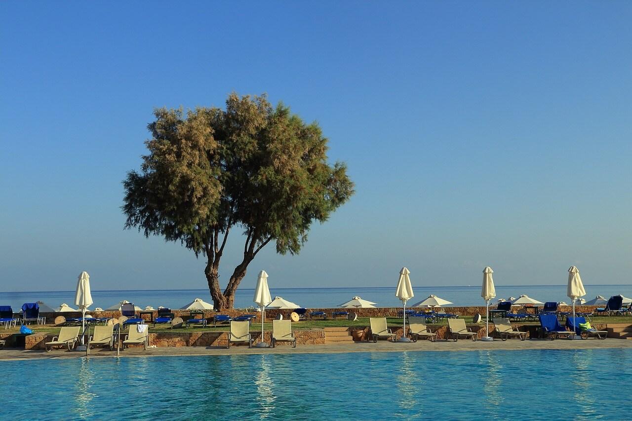 Pool-auf.Kreta