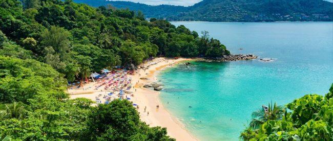 Einsame Bucht in Thailand